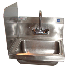 Win-Holt WH-SSP Win-Fab Sink Modification Sink Side Splash
