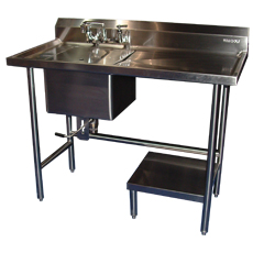 Win-Holt WH-USDB Win-Fab Sink Modification Undershelf Drainboard