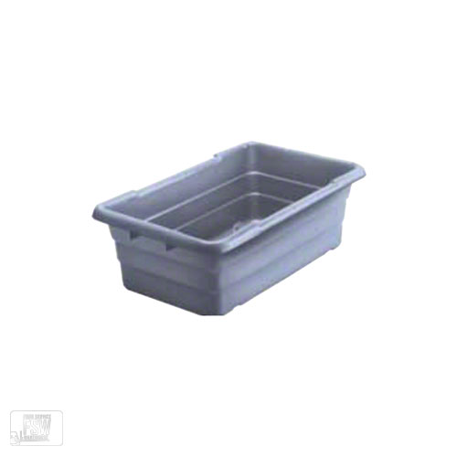 "Win-Holt WHPL-8GY Gray Lug Tub, 16"" x 25"" x 8"""