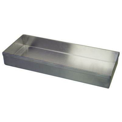 "Win-Holt WHSSBX-630/1H Stainless Steel Display Tray 6"" x 30"" x 1"""