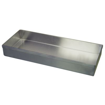 "Win-Holt WHSSBX-815/2H Stainless Steel Display Tray 8"" x 15"" x 2"""