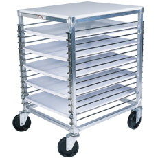 "Win-Holt WP-1815/PPT 15-Pan Wire Pan Rack 21"" x 25"" x 32"""