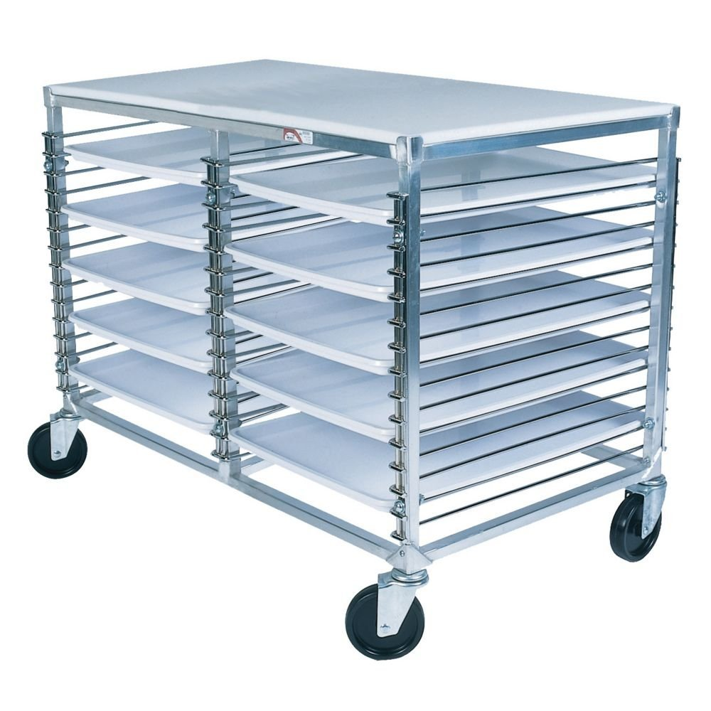 "Win-Holt WP-1830D/PT 30-Pan Wire Pan Rack 46quot; x 25"" x 32"""