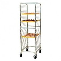 "Win-Holt WP-1836B 36-Pan Wire Pan Rack 21"" x 24"" x 68"""