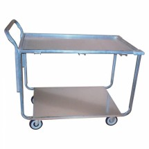 "Win-Holt WPT-2340 Wet Produce Steel Utility Cart 25"" x 43"""