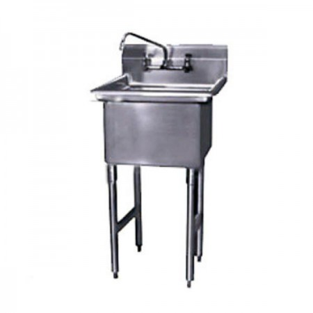 """Win-Holt WS1T1620 Win-Fab One Compartment Sink 21"""" x 25-1/2"""""""