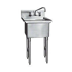"""Win-Holt WS1T1824 Win-Fab One Compartment Sink 23"""" x 29-1/2"""""""