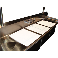 "Win-Holt WSA-PSC1618 Win-Fab Poly Sink Cover, 18"" x 16"""