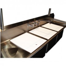 "Win-Holt WSA-PSC1620 Win-Fab Poly Sink Cover, 20"" x 16"""