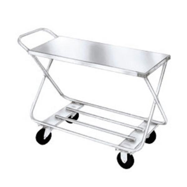 "Win-Holt WX-1000/H Steel Stocking Cart with Handle 17"" x 40"""