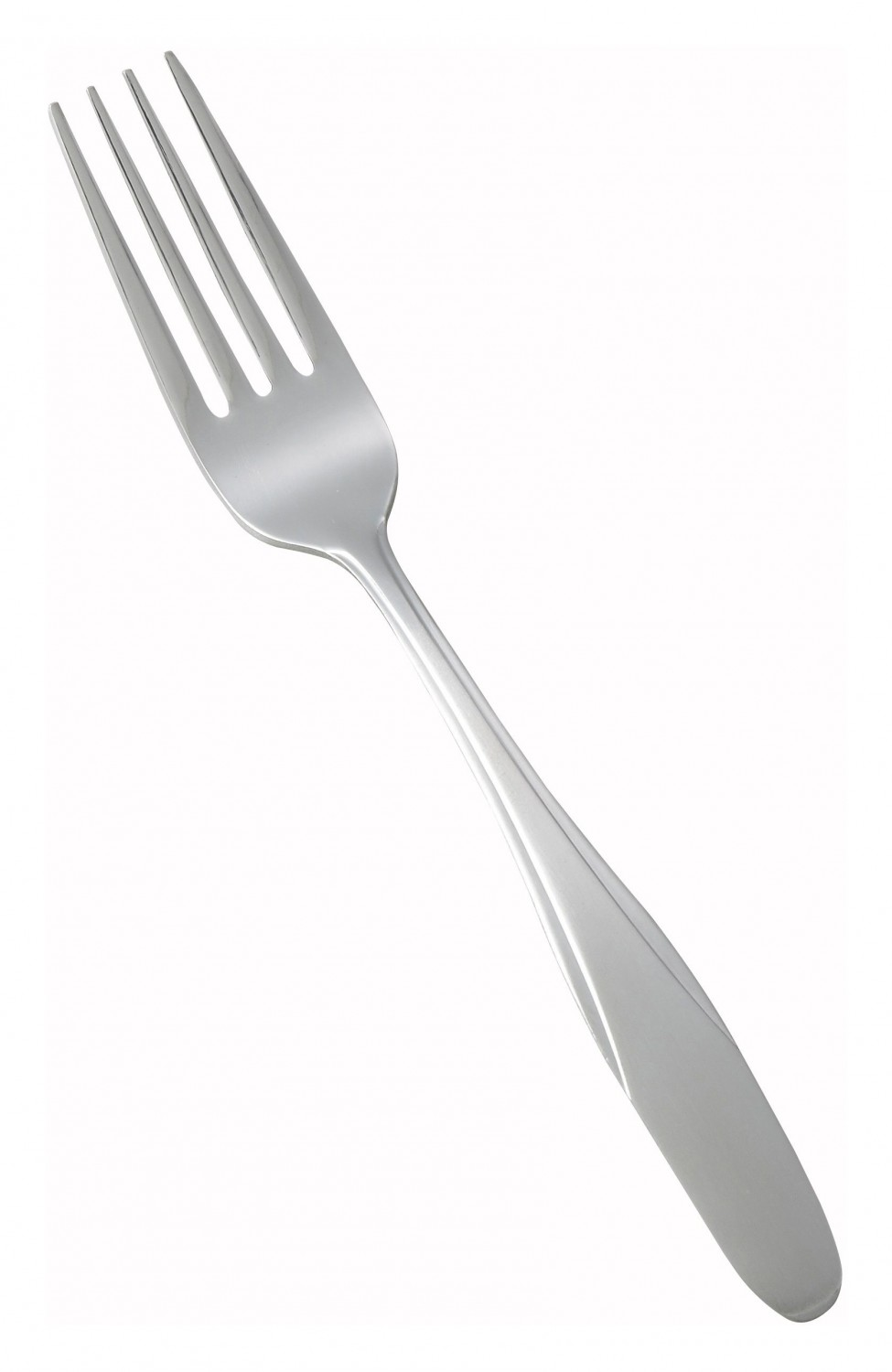 Winco 0008-05 Manhattan Heavy Weight Stainless Steel Dinner Fork - 1 doz