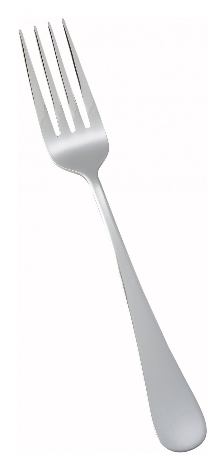 Winco 0026-05 Elite Heavy Weight 18/0 Stainless Steel Dinner Fork - 1 doz