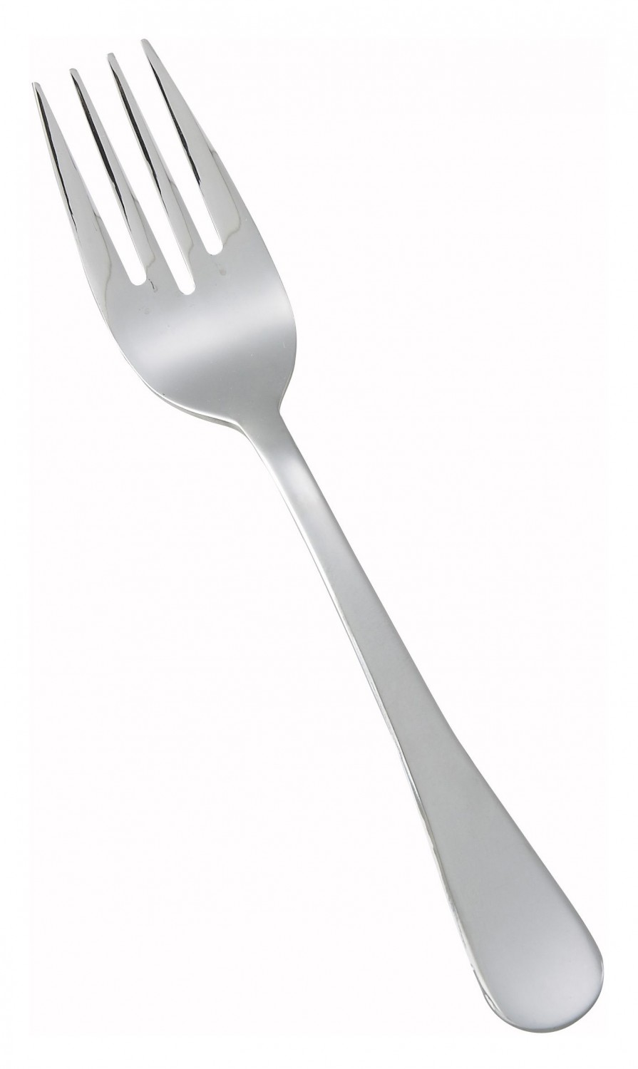 Winco 0026-06 Elite Heavy Weight 18/0 Stainless Steel Salad Fork - 1 doz