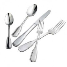Winco 0033-06 Oxford Extra Heavy Weight Stainless Steel Salad Fork - 1 doz