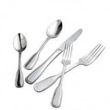 Winco 0033-07 Oxford Extra Heavy Stainless Steel Oyster Forks - 1 doz