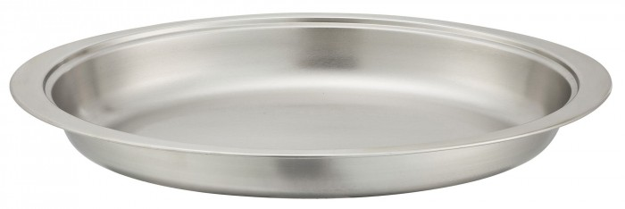 Winco 202-FP Food Pan for Winco Oval Chafer #202