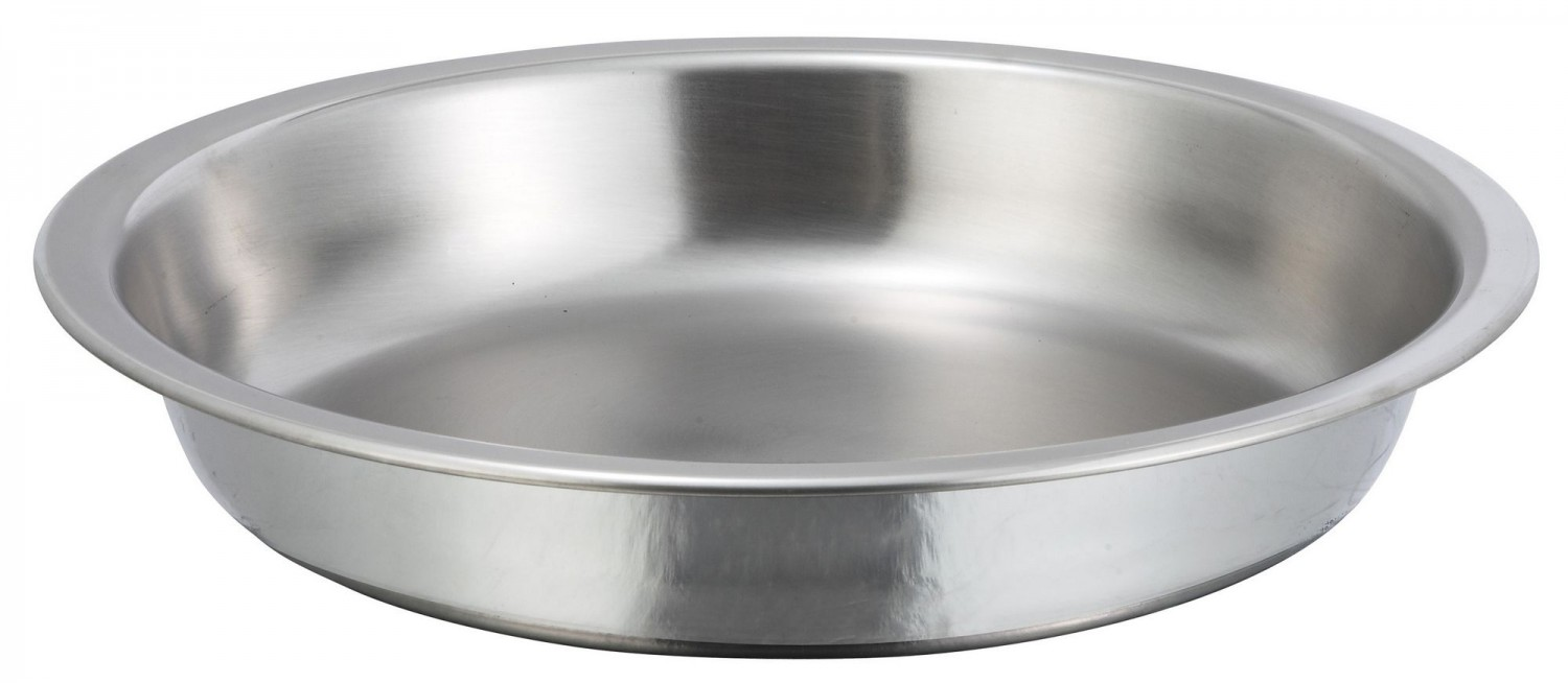 Winco 203-FP Food Pan for Winco Round Chafer Item # 203