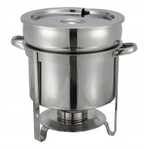Winco 211 Stainless Steel Soup Warmer 11 Qt.
