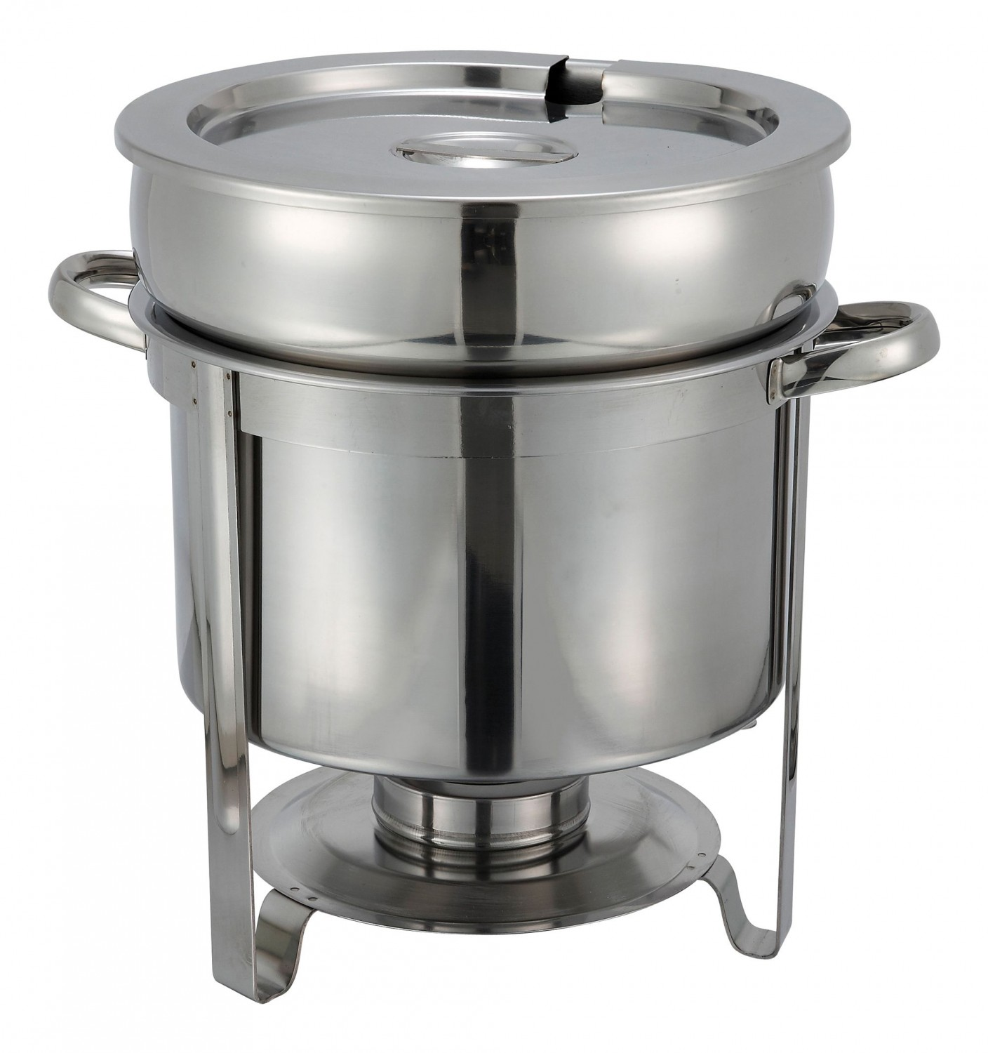 Winco 211 Stainless 11 Quart Soup Warmer