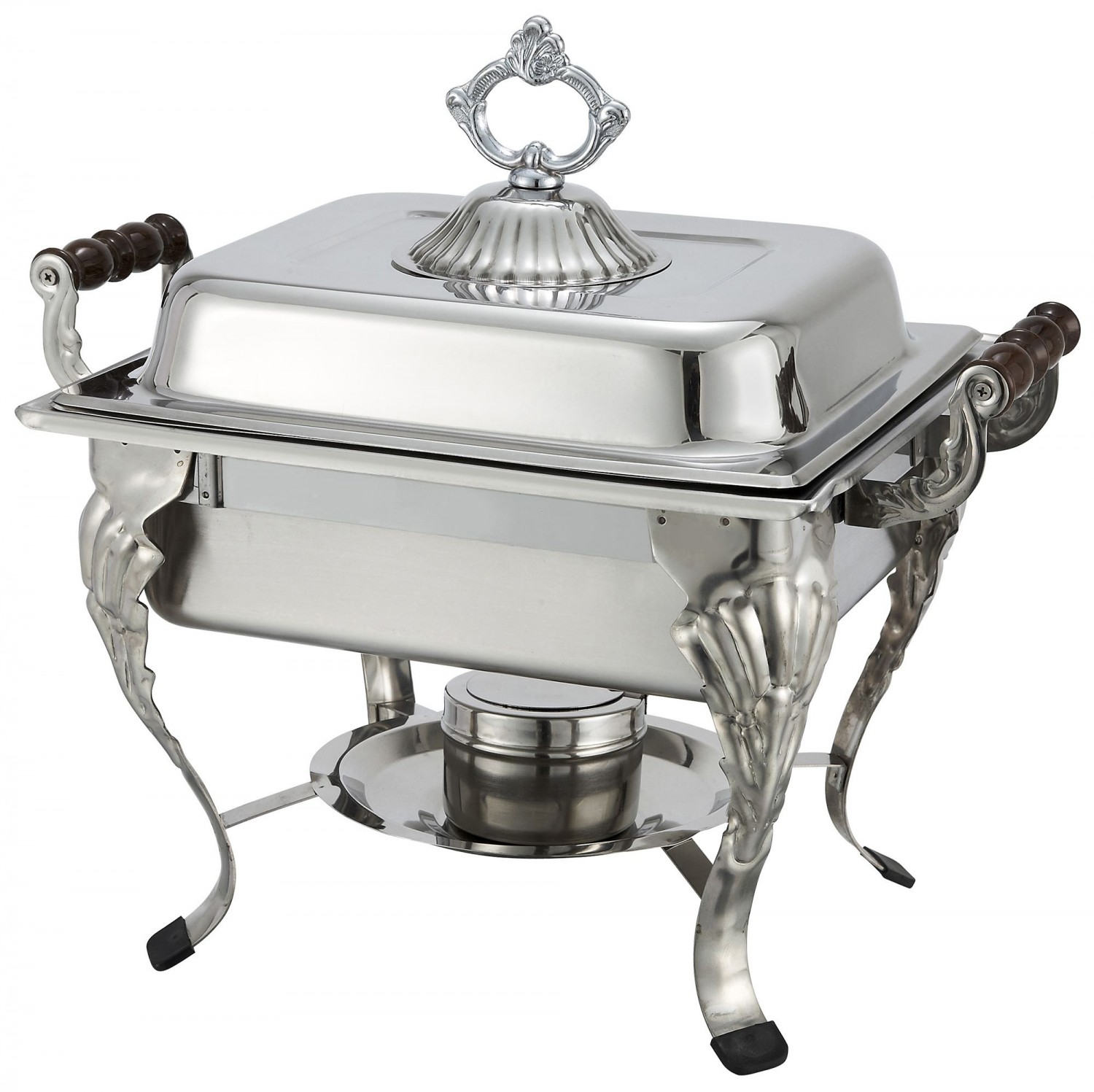 Winco 508 4 Quart Crown Chafer