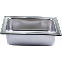 Winco 508-WP Square Stainless Steel Water Pan For 508