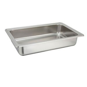 Winco 601-WP1 Stainless Steel Water Pan for 601