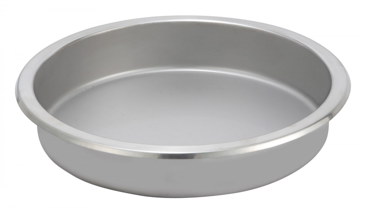 Winco 602-FP Round Stainless Steel Food Pan For 103A, 103B, & 602