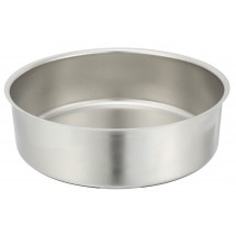 Winco 602-WP Round Stainless Steel Water Pan For 602