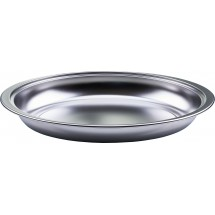 Winco 603-FP Round Stainless Steel Food Pan for 603