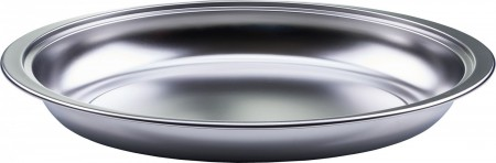 Winco 603-FP Stainless Steel Oval Food Pan for 603