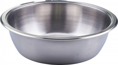 Winco 708-FP Round Stainless Steel Food Pan for 708