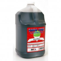 Winco 72010 Benchmark Snow Cone Syrup, Root Beer, 1 Gallon
