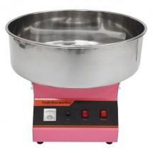 """Winco 81011A Benchmark Zephyr Cotton Candy Machine with 21"""" Stainless Steel Bowl, 120V"""
