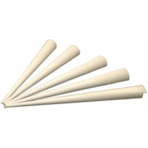 Winco 83007 Benchmark Paper Cotton Candy Cones, 250/Pack