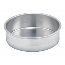 "Winco ACP-062 Aluminum Layer Cake Pan, 6"" x 2"""
