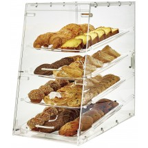 Winco ADC-4 4-Tier Acrylic Pastry Display Case