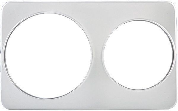 "Winco ADP-810 Adaptor Plate With 8-3/8"" and 10-3/8"" Holes"