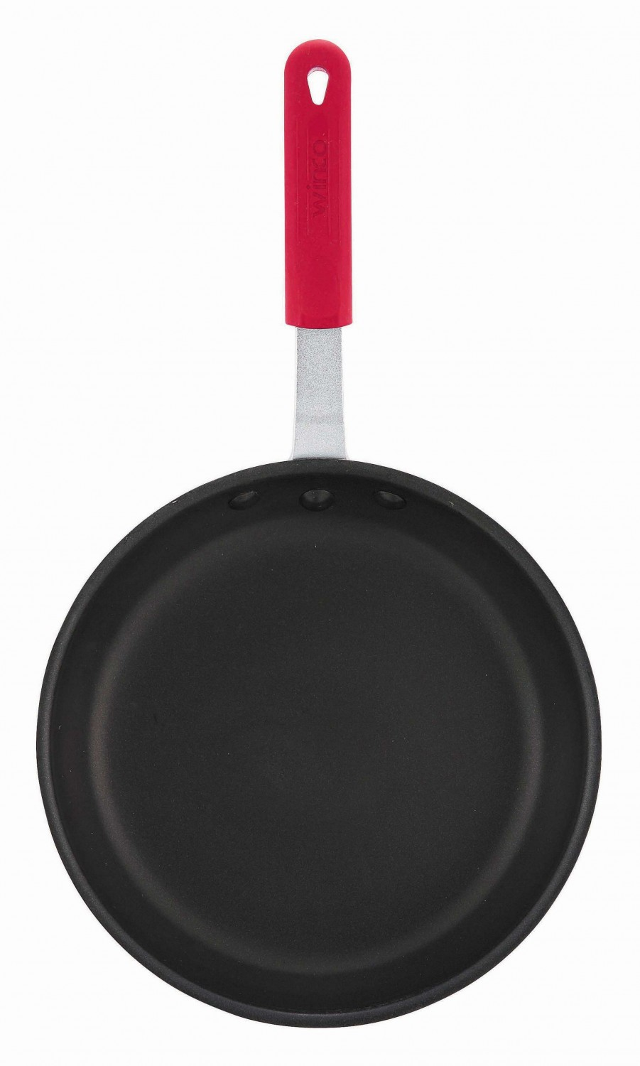 Winco AFP-14NS-H Majestic Quantum Non-Stick Aluminum Fry Pan 14& with Sleeve