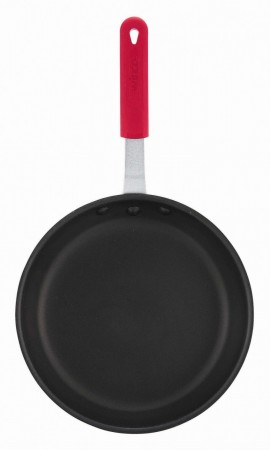 """Winco AFP-14NS-H Majestic Quantum Non-Stick Aluminum Fry Pan 14"""" with Sleeve"""