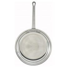 Winco AFP-7 Aluminum Fry Pan with Mirror Finish 7""