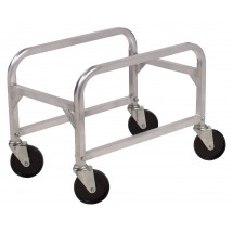 Winco ALBC-1 Aluminum Lug Box Cart