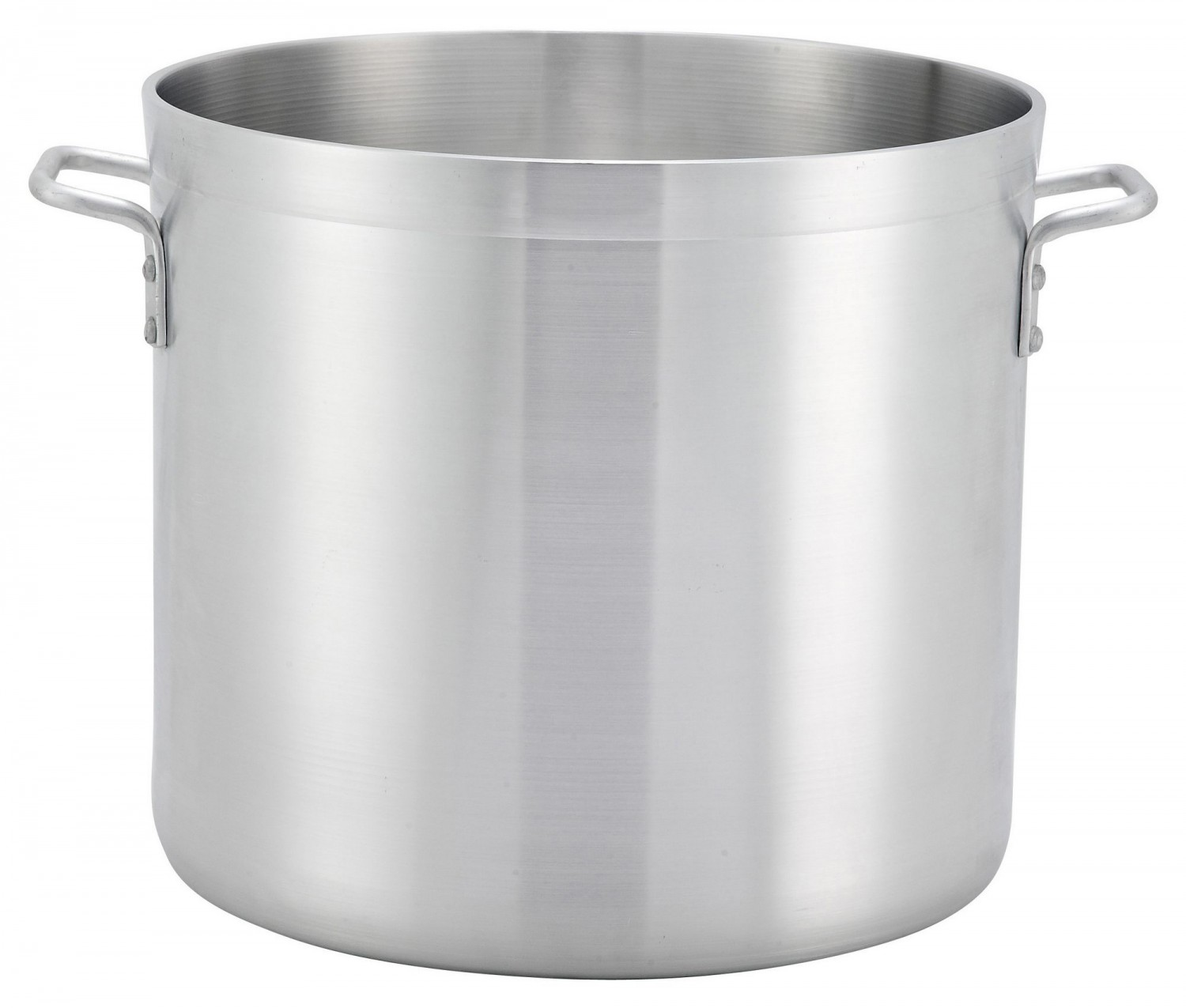 Winco ALHP-140 Precision Aluminum Stock Pot 140 Qt.