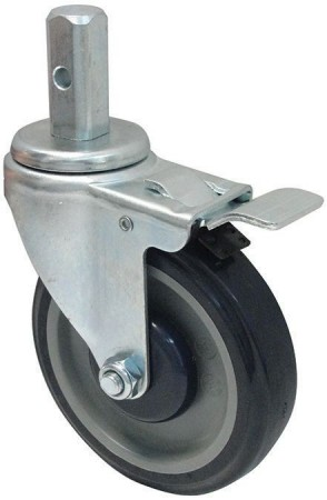 Winco ALRC-5HK Heavyweight Caster with Brake for ALRK-30BK