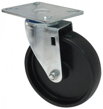 Winco ALRC-5P Heavyweight Caster with Mounting Plate for ALRK-3