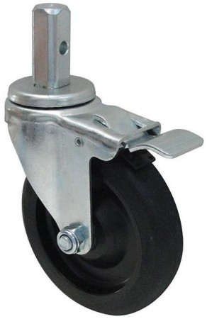 Winco ALRC-5STK Standard Weight Caster with Brake for ALRK and AWRK-series