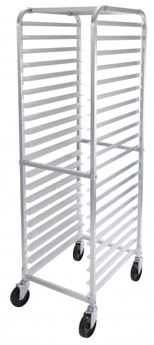 Winco ALRK-20 20-Tier Aluminum Sheet Pan Rack