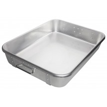 Winco-ALRP-1824-Aluminum-Double-Roast-Pan-with-Straps-18-quot--x-24-quot-