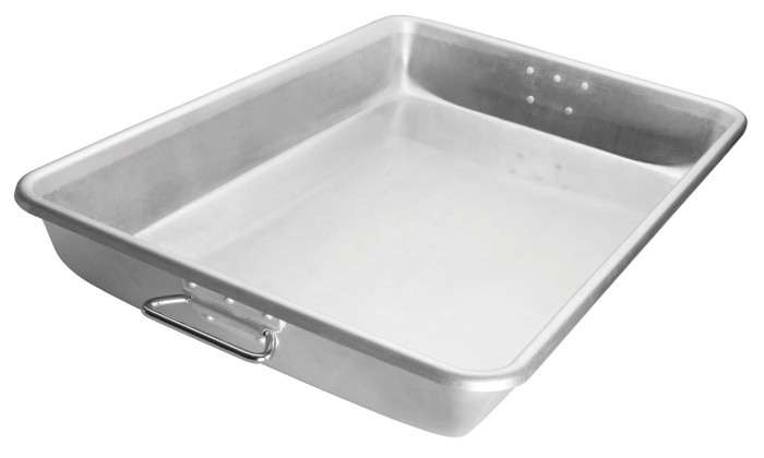 "Winco ALRP-1826H Aluminum Roast Pan with Handle 17-3/4"" x 25-3/4"""