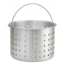 Winco ALSB-80 Aluminum Steamer Basket Fits Stock Pot 80 Qt.