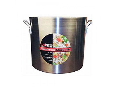 Winco AXS-40 Win-Ware 40 Qt Aluminum Stock Pot